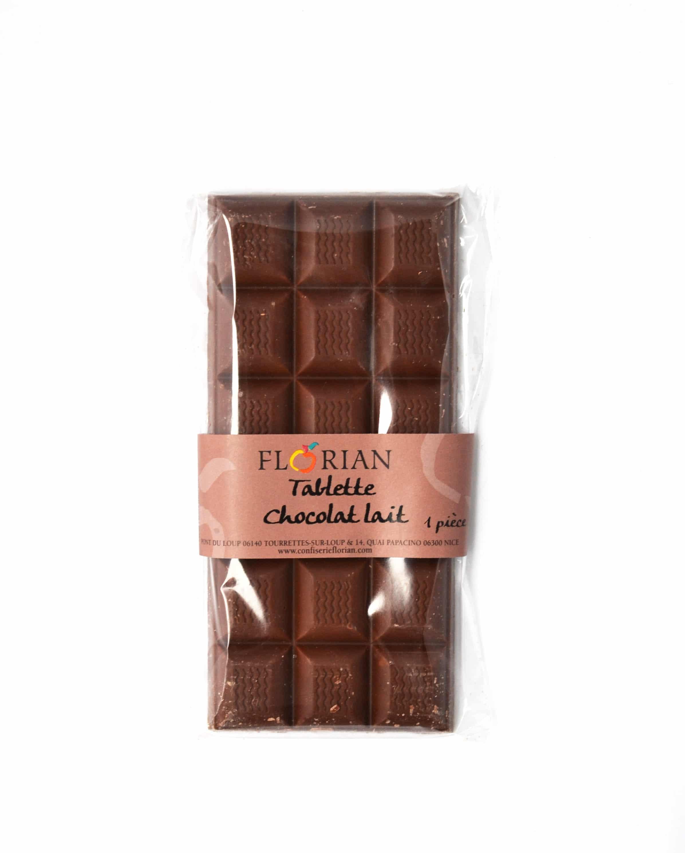 tablette de chocolat confiserie florian