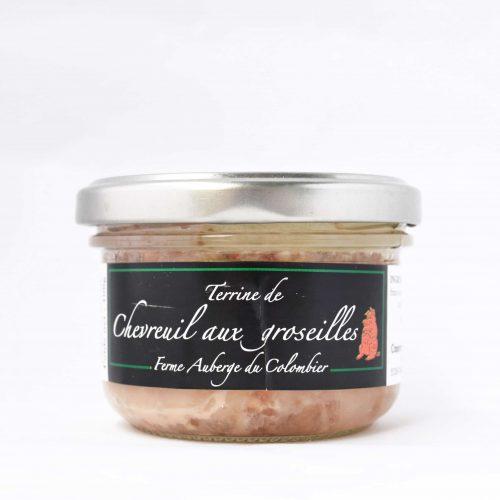 Terrine de Chevreuil aux groseilles