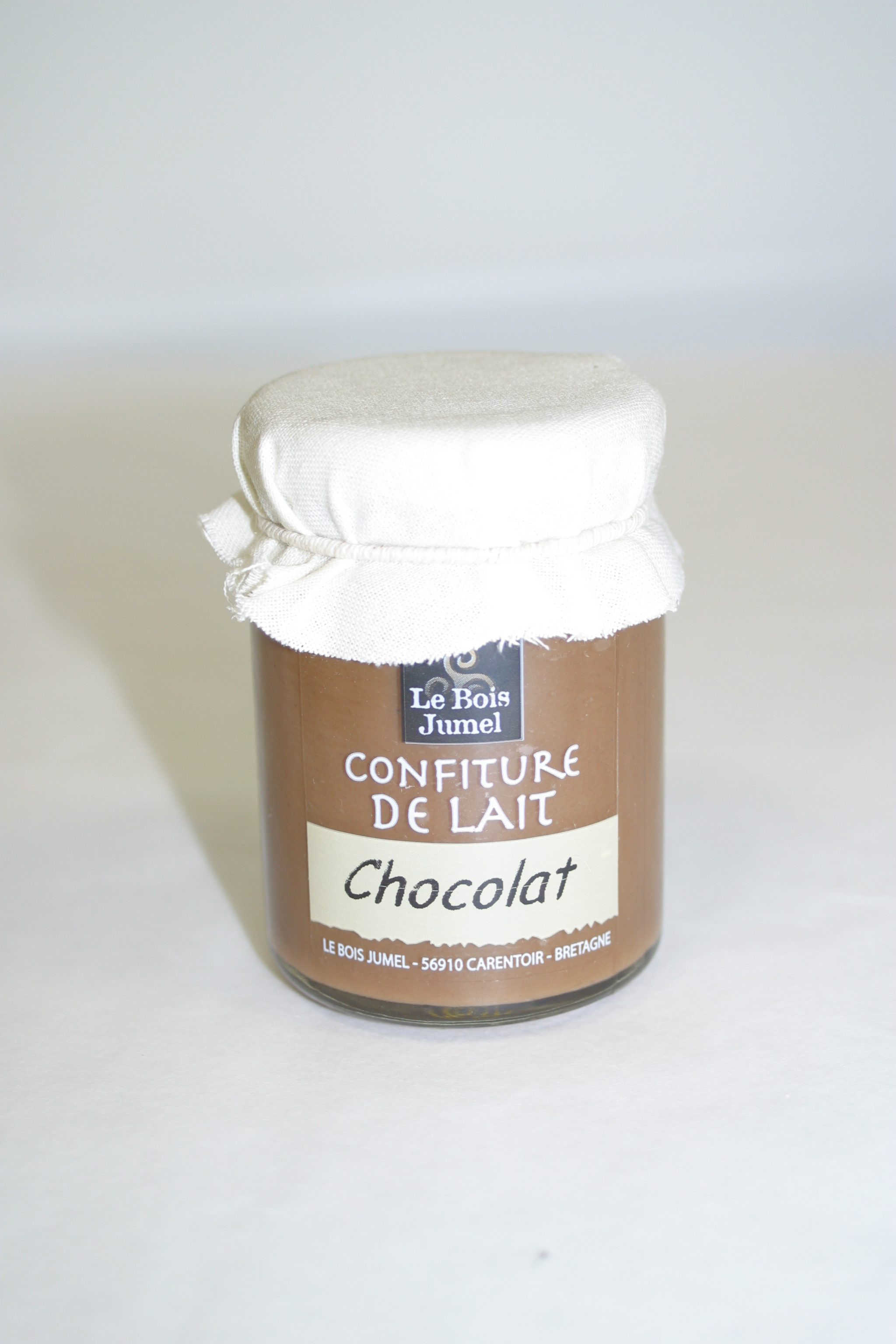 confiture de lait au chocolat le bois jumel made in france box. Black Bedroom Furniture Sets. Home Design Ideas