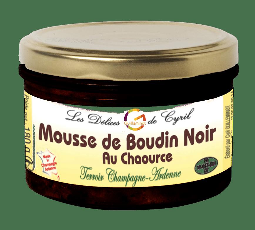 Mousse Boudin Noir Chaource