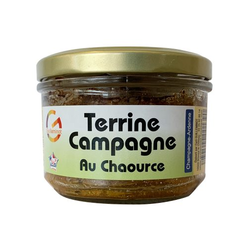 Terrine Campagne au Chaource