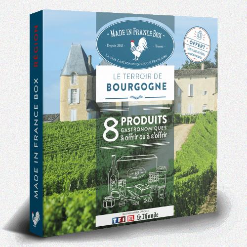 """Coffret Cadeau """"Le Terroir de Bourgogne"""""""