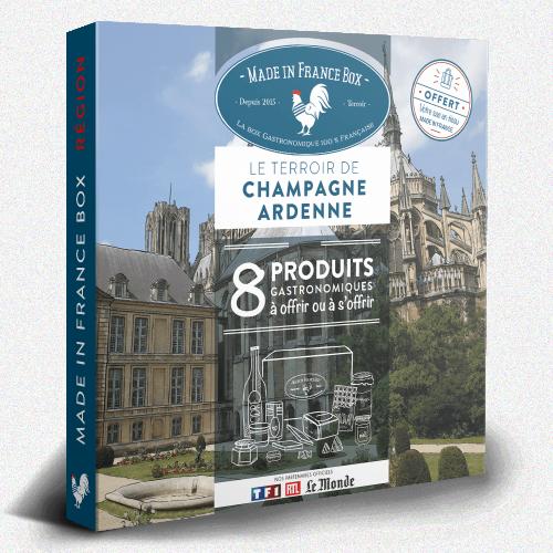"""Coffret cadeau """"Le Terroir de Champagne Ardennes"""""""