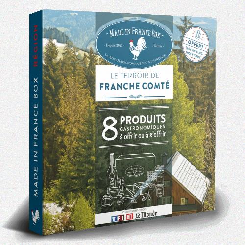 """Coffret cadeau """"Le Terroir de Franche Comté"""""""
