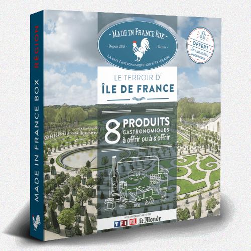 """Coffret cadeau """"Le Terroir d'Ile de France"""""""