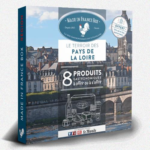 """Coffret cadeau """"Le Terroir des Pays de La Loire"""""""