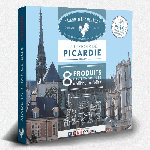"""Coffret cadeau """"Le Terroir de Picardie"""""""