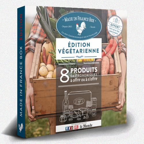 """Coffret Cadeau """"Le Terroir Végétarien"""""""