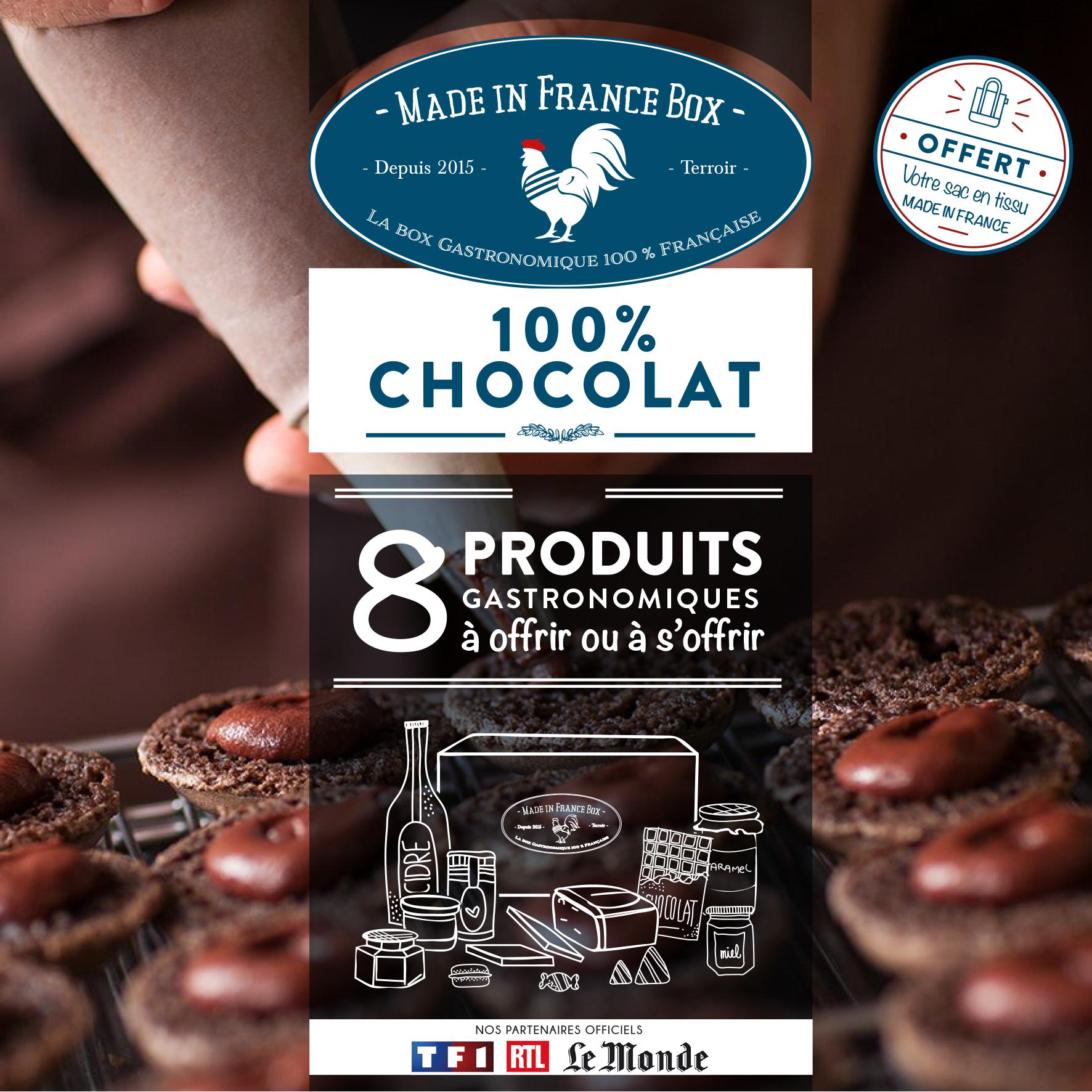 cc à plat 100% chocolat