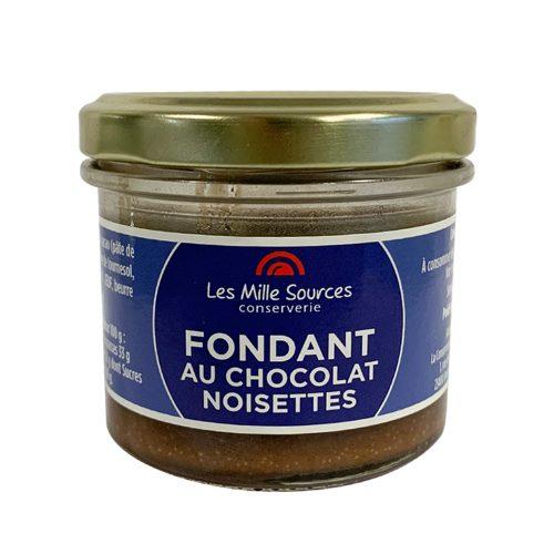 Fondant Au Chocolat et à la Noisette