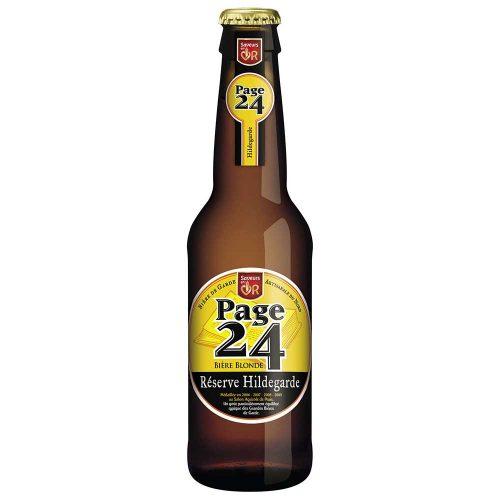 Bière blonde Réserve Hildegarde