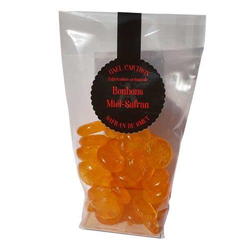 Bonbons au Miel et au Safran