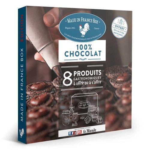 """Coffret Cadeau """"Le Terroir 100% Chocolaté"""""""