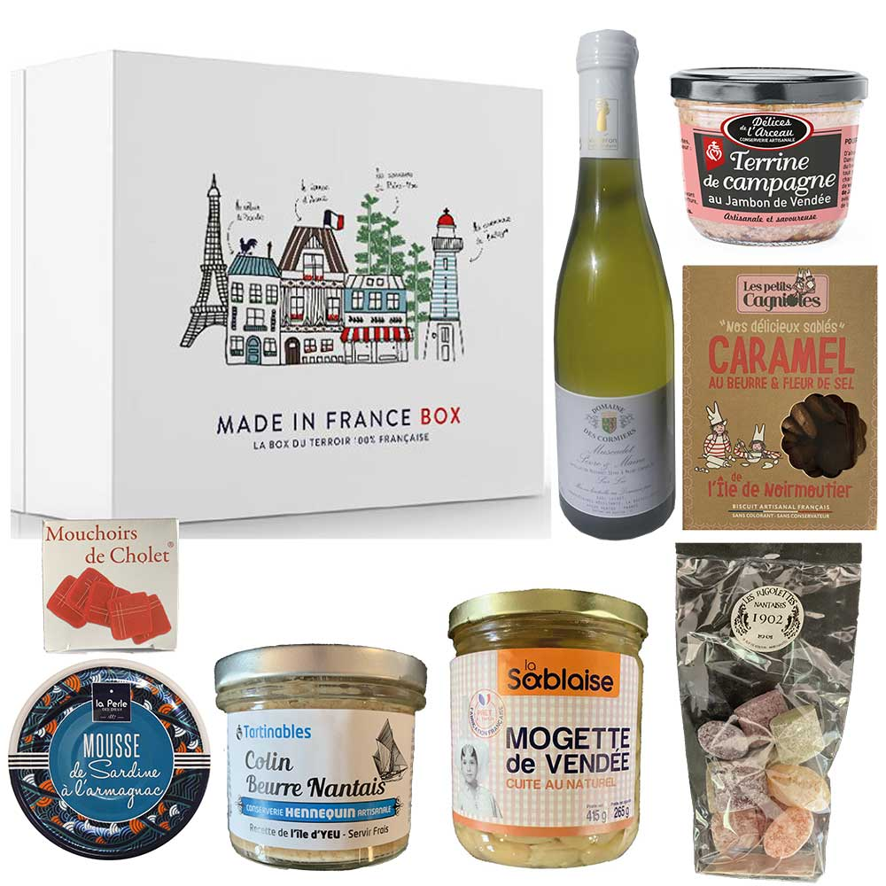 Made in France Box Pays de la Loire | Jupette & Salopette