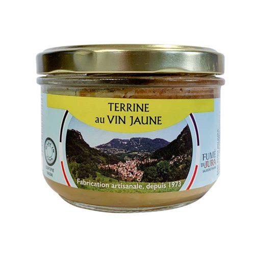 Terrine au vin jaune