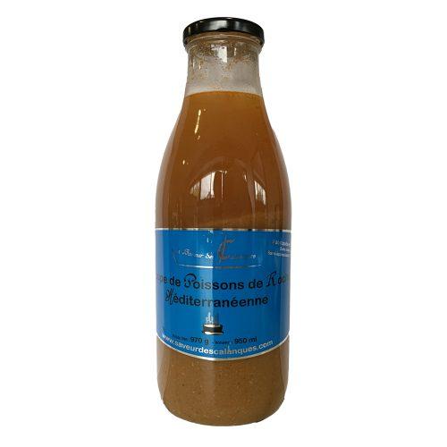 Soupe de Poissons de Roche Méditerranéenne