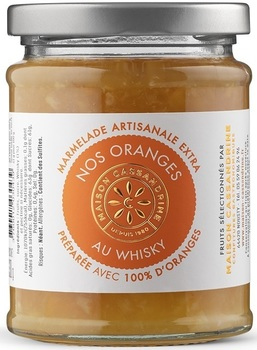 Marmelade Extra d'Oranges au Whisky