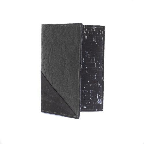 Protège-Passeport Delia Noir Noir
