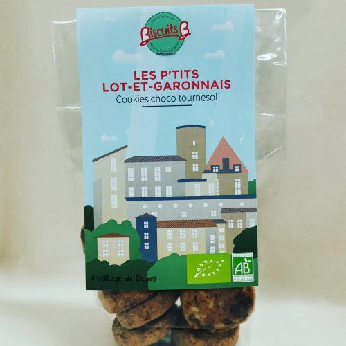 Cookies chocolat tournesol