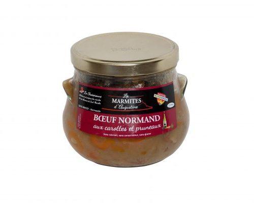 Boeuf Normand aux carottes / pruneaux