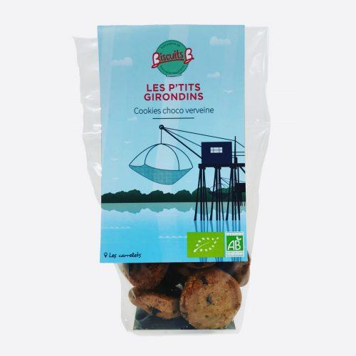 Cookies chocolat verveine