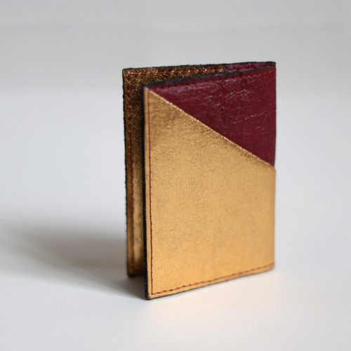 Porte-cartes Jesselyn Mulberry& Doré