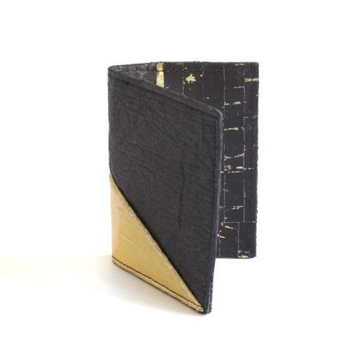 Porte-cartes Jesselyn Noir& Doré