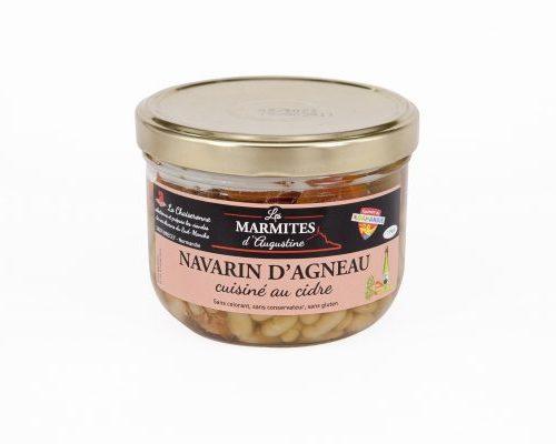 Navarin d'Agneau cuisiné au cidre Brécéen