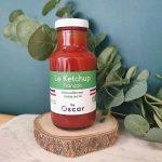 Le Ketchup français, 100% naturel & bio, naturellement moins sucré