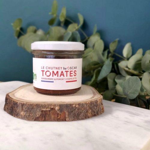 Chutney de tomates, gingembre & piment d'Espelette