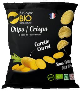 Chips Carotte