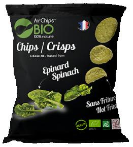 Chips Épinard