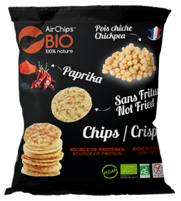 Chips pois chiche & Paprika BIO