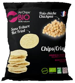 Chips pois chiche