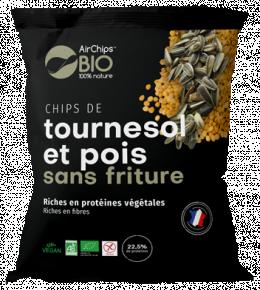 Chips pois chiche & tournesol