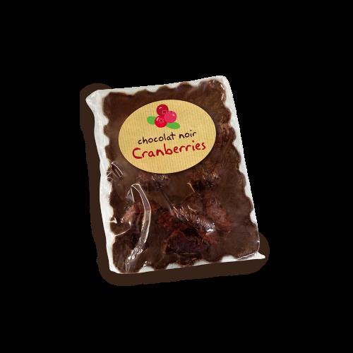 Mini tablette Noir 67% cacao aux Cranberries