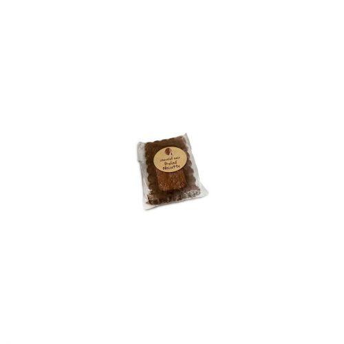 Mini tablette Noir 67% cacao au Praliné noisette