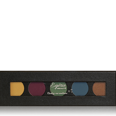 Palette yeux 5 fards