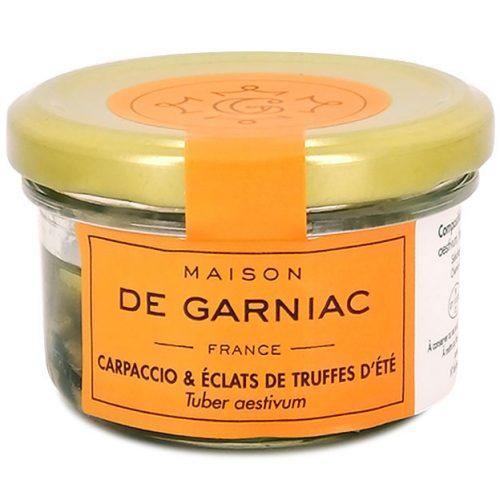Carpaccio & éclats de truffes d'été - Tuber aestivum
