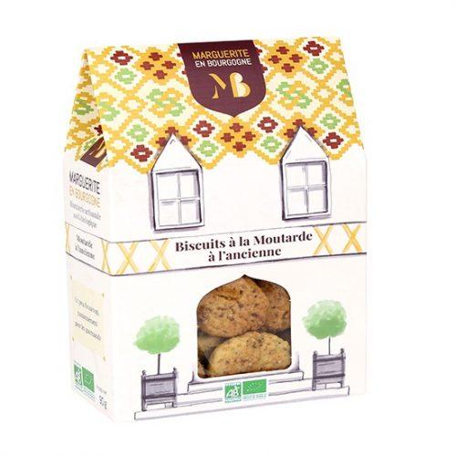 Biscuits à la moutarde