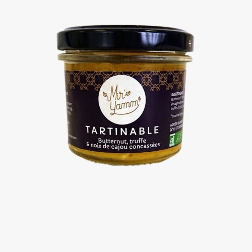 Tartinable Butternut truffe, noix concassées