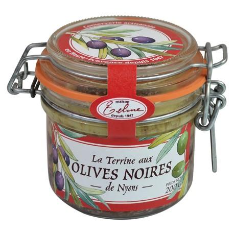 Terrine Artisanale aux olives de Nyons