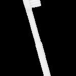 Brosse à dents rechargeable bioplastique souple blanche