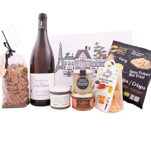 "Box Découverte ""Apéro Vegan Vin Blanc"""