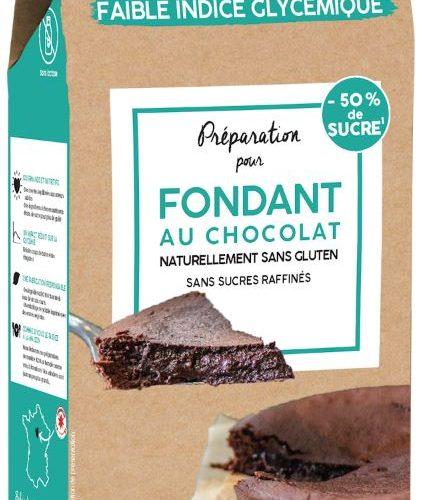 PREPARATION BIO POUR FONDANT CHOCOLAT SANS GLUTEN