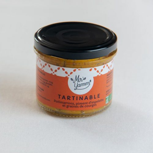 Tartinables Potimarrons Piment d'espelette et graines de courge