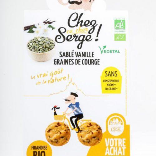 Sablé Vanille Graines de courges BIO