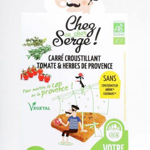 Carré croustillant Tomate et Herbes de Provence  BIO
