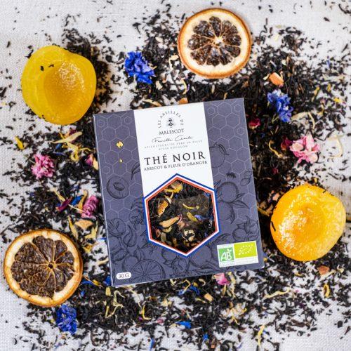 Thé Noir Abricot et Fleurs d'Oranger - Vrac