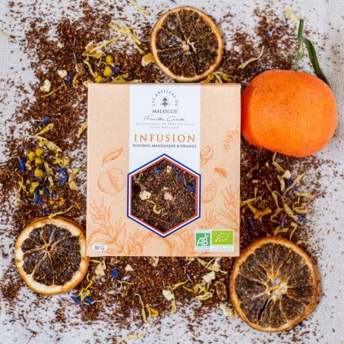 Infusion Rooibos Mandarine et Orange - Vrac